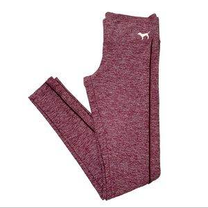VS PINK Yoga Legging Soft Heather Burgundy XS